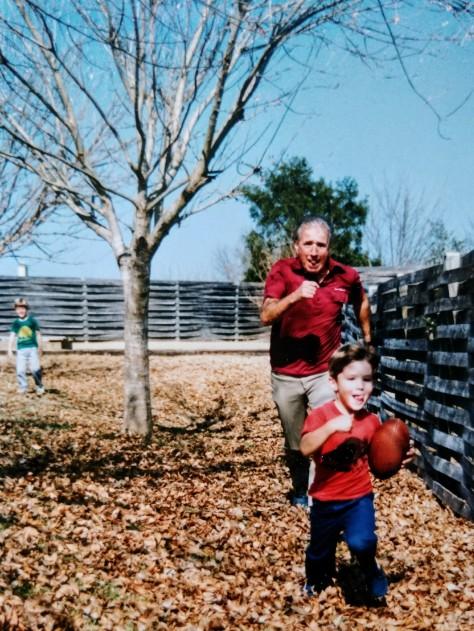Grandpa B and Me